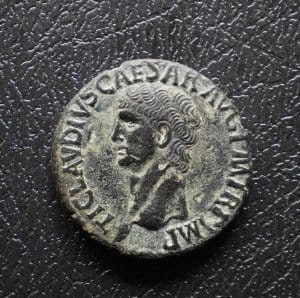 I. Claudius bronz As