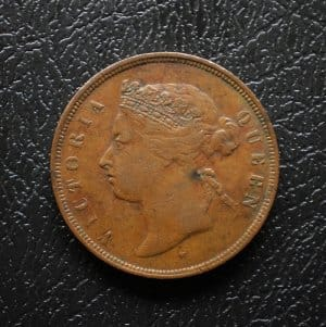 Straits Settlements 1 cent 1874