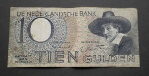 Hollandia 10 gulden 1943