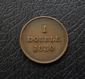 Guernesey 1 double 1830