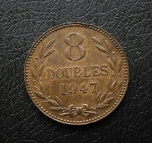 Guernesey 8 doubles 1947