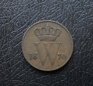 Hollandia 1 cent 1870