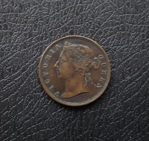 Straits Settlements 1/2 cent 1884