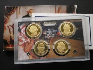 USA Presidential 1 dollar set 2007 PP