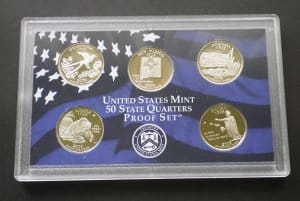USA State Quarters PP set 2008